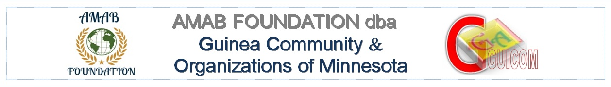 AMAB Foundation DBA Guinea Community and Organizations of Minnesota